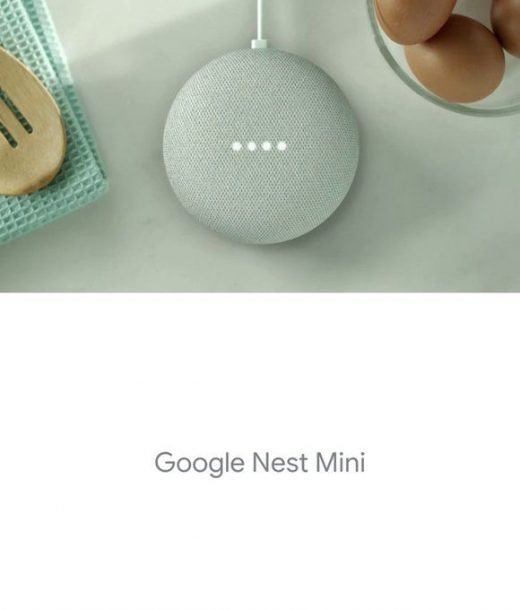 Google's Nest Mini with wall mount and audio port hits the FCC