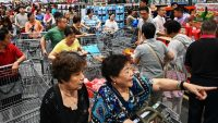Costco opened its first store in China and everyone came