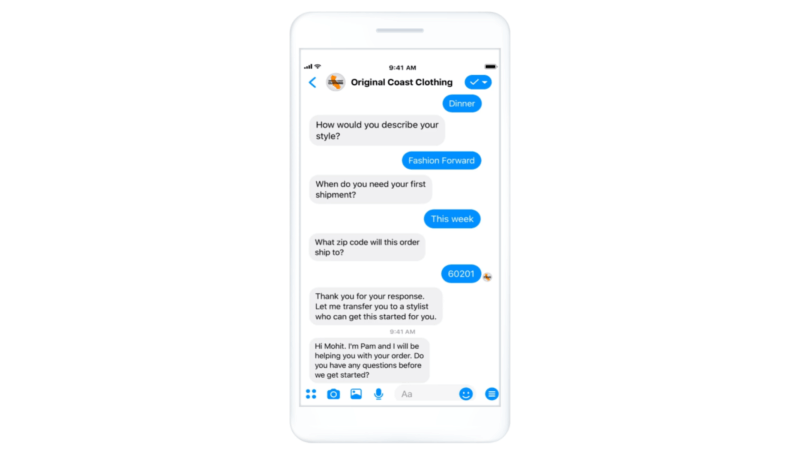 Facebook rolls out automated lead generation feature for Messenger to all advertisers | DeviceDaily.com