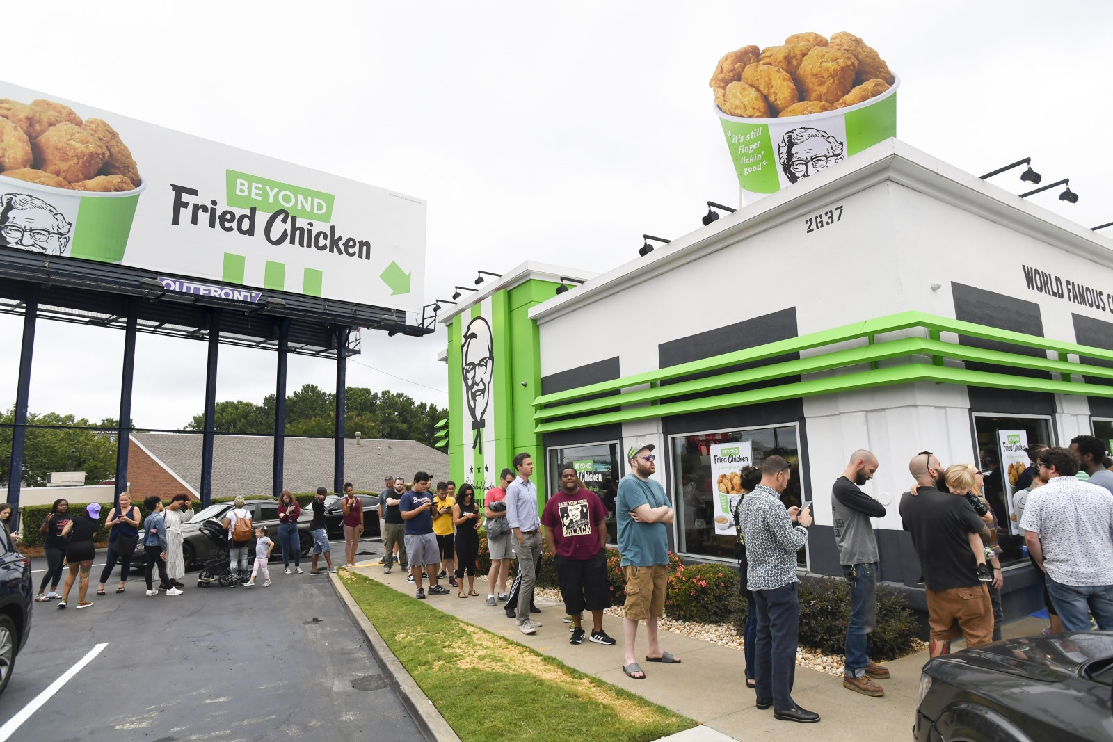 KFC's plant-based 'chicken' sold out in five hours | DeviceDaily.com