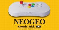 Neo Geo Arcade Stick Pro puts a retro console inside a controller
