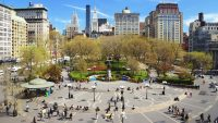 The history of Union Square, the public square that hosted the first Labor Day parade