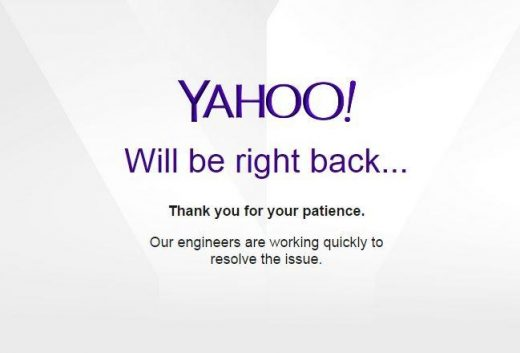 Yahoo Mail Down In Parts Of Europe, Company Is Working On The Problem