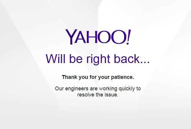 Yahoo Mail Down In Parts Of Europe, Company Is Working On The Problem | DeviceDaily.com
