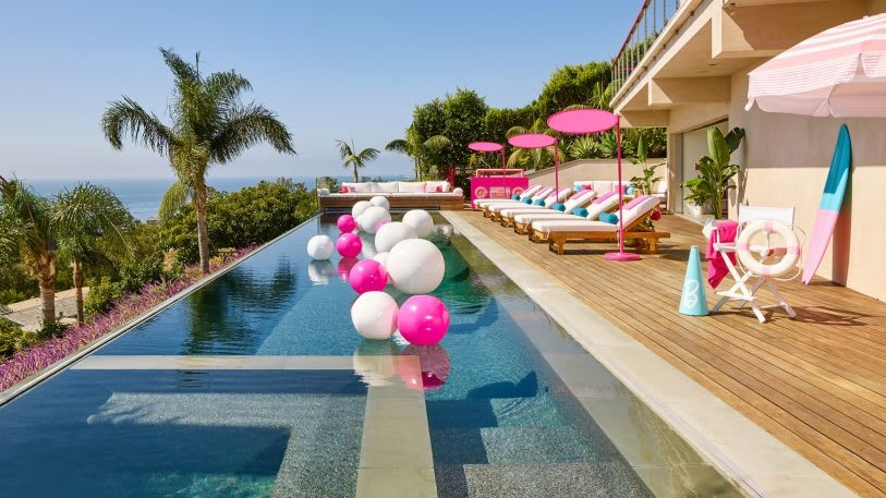 Airbnb's latest stunt is a sleepover in Barbie's Malibu Dream House | DeviceDaily.com