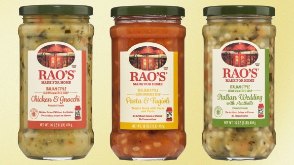 You can't get a reservation at Rao's, but at least you can buy its new soups | DeviceDaily.com