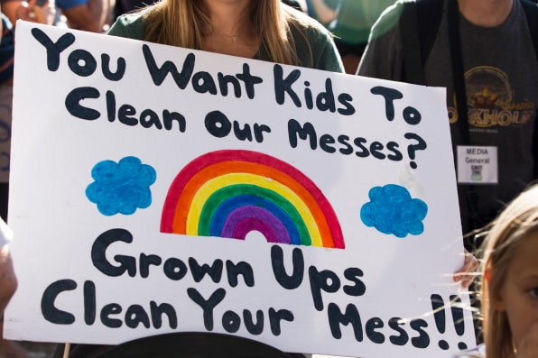 21 signs from the NYC climate strike that say it all | DeviceDaily.com