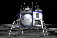Blue Origin teams with spaceflight veterans to complete its lunar lander