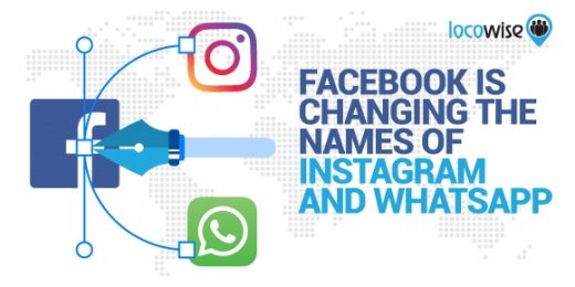 Facebook is Changing the Names of Instagram and WhatsApp