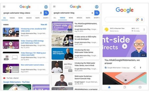 Google Search Adds Reports For Video Enhancement, Video Appearances Performance