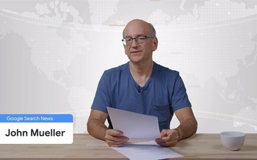 Google Search News — John Mueller's New Gig As Anchorman