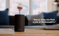 McDonald's Taps Amazon Alexa, Google Home For Job Applications