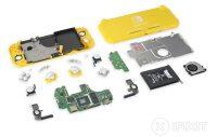 Nintendo Switch Lite teardown reveals modified joystick components