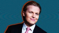 Pulitzer Prize-winner Ronan Farrow does goofy voices in his dead-serious MeToo audiobook
