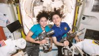 Set your alarm so you can watch NASA's first all-female spacewalk on Friday morning