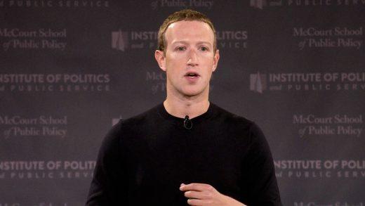 The comments on Mark Zuckerberg's free-speech address sure look censored
