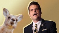 The internet's kangaroo court has sentenced Matt Gaetz to be mocked for his Captain Kangaroo zinger