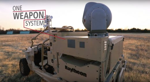 US Air Force gets its first anti-drone laser weapon from Raytheon