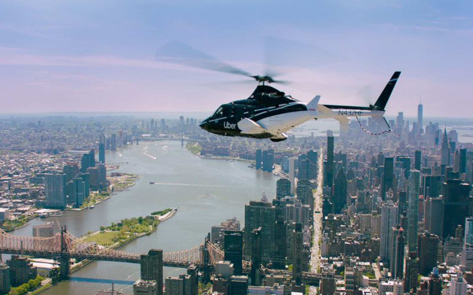 Uber Copter's $200 trips to JFK will be available to everyone October 7th | DeviceDaily.com