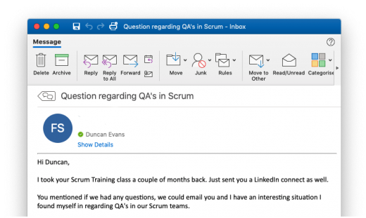 Ask a Consultant: QAs in Scrum