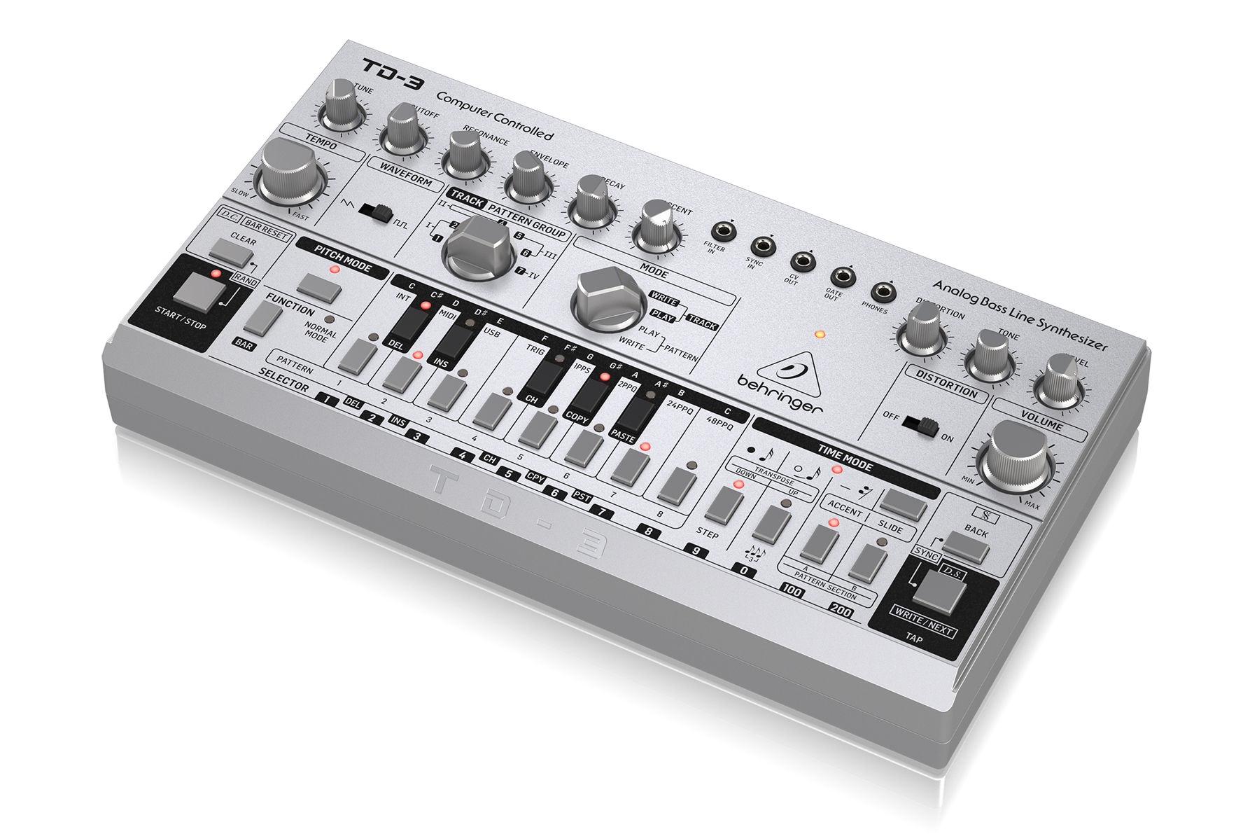 Behringer unveils a Roland TB-303 clone | DeviceDaily.com