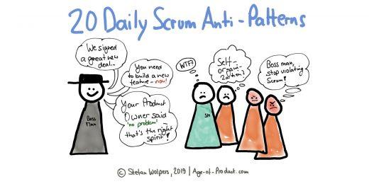 Daily Scrum Anti-Patterns: 20 Ways to Improve
