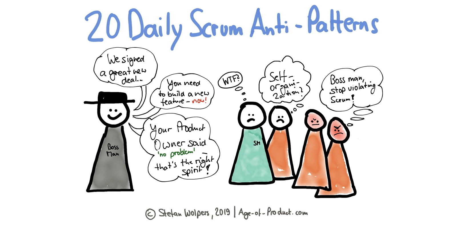 Daily Scrum Anti-Patterns: 20 Ways to Improve | DeviceDaily.com