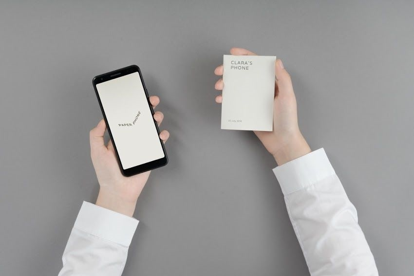 Go on a digital detox with the Paper Phone app | DeviceDaily.com