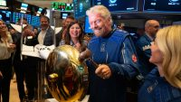 Here's your chance to make money on space travel: Virgin Galactic blasts off on the NYSE