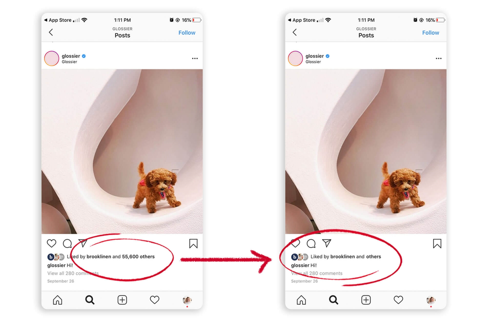 """Instagram to begin removing """"Like"""" counts for U.S. users as early as this week 