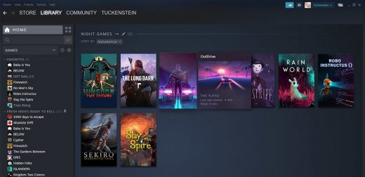 Steam's redesigned Library is available to everyone