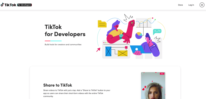 TikTok's new SDK enables video uploads from other apps, services   DeviceDaily.com