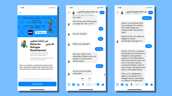 There's now a chatbot to give refugees instant legal advice | DeviceDaily.com