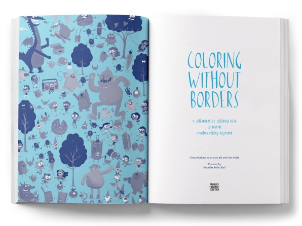 This beautiful coloring book talks to kids about the border, family separation, and empathy | DeviceDaily.com