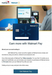 How Capital One and Walmart Encourage New Card Migration and Usage