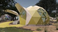 Zappos wants to help build a geodesic dome city for Las Vegas's homeless residents