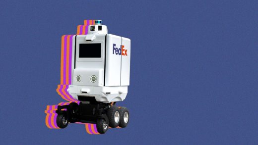 Even the mere appearance of a FedEx delivery robot freaks out the mayor of NYC