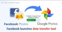 Facebook tests tool that lets users transfer photos to Google and other platforms