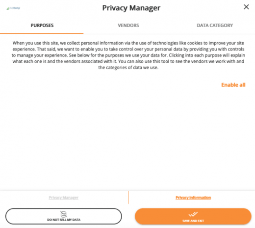 LiveRamp rolls out 'Privacy Manager' compliance tool ahead of CCPA deadline
