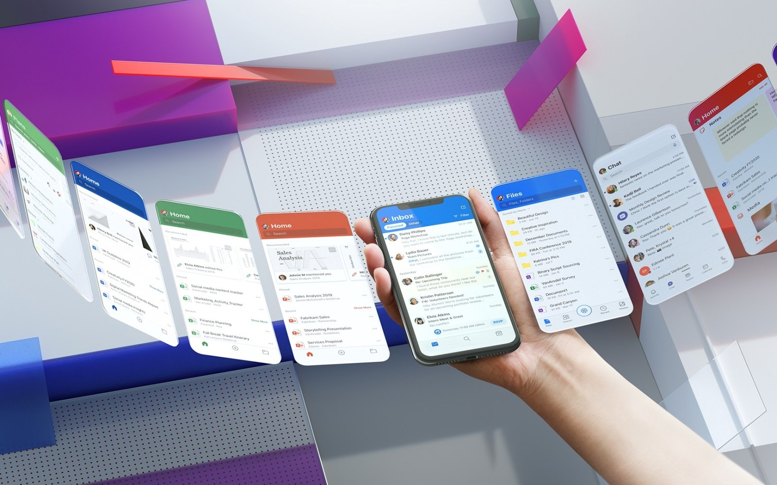 Microsoft's redesigned Office mobile apps read text out loud | DeviceDaily.com