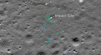 NASA photos show the crash site of India's Vikram lunar lander