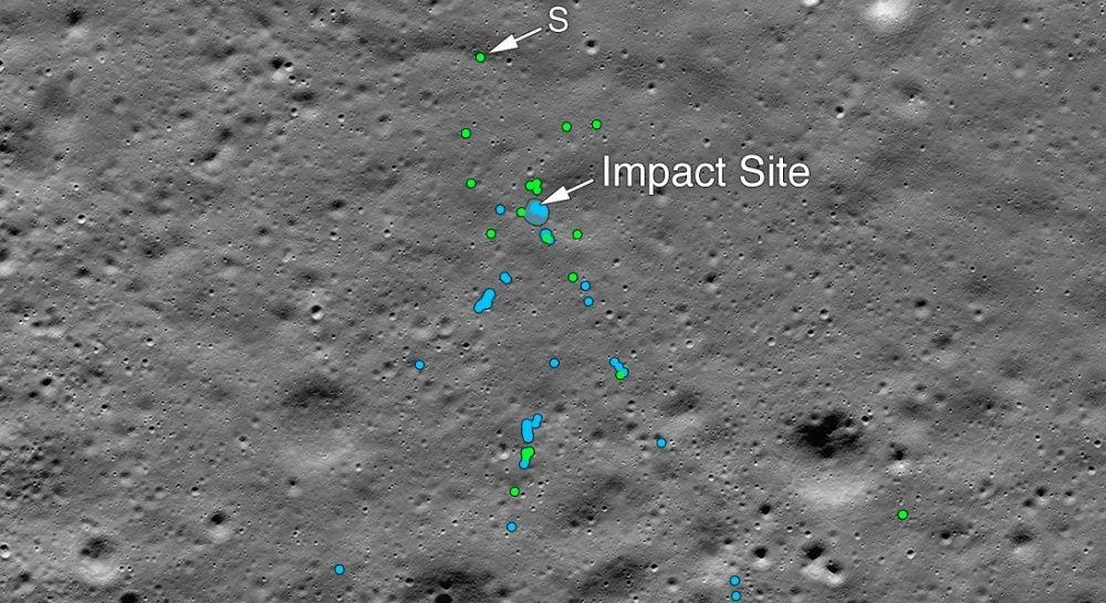 NASA photos show the crash site of India's Vikram lunar lander | DeviceDaily.com