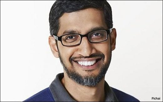 Pichai Named CEO Of Alphabet And Google: Founders Page, Brin Step Down