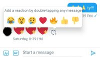Twitter launches Facebook-like reaction emojis for DMs