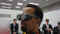 Panasonic's compact VR glasses see the future in HDR