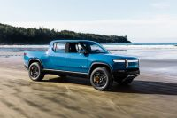 Rivian shows off how its new EVs can 'tank turn'