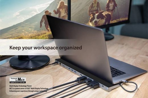 J5Create USB-C™ Triple Display Docking Station with 90W PD Adapter: The Hub of Choice