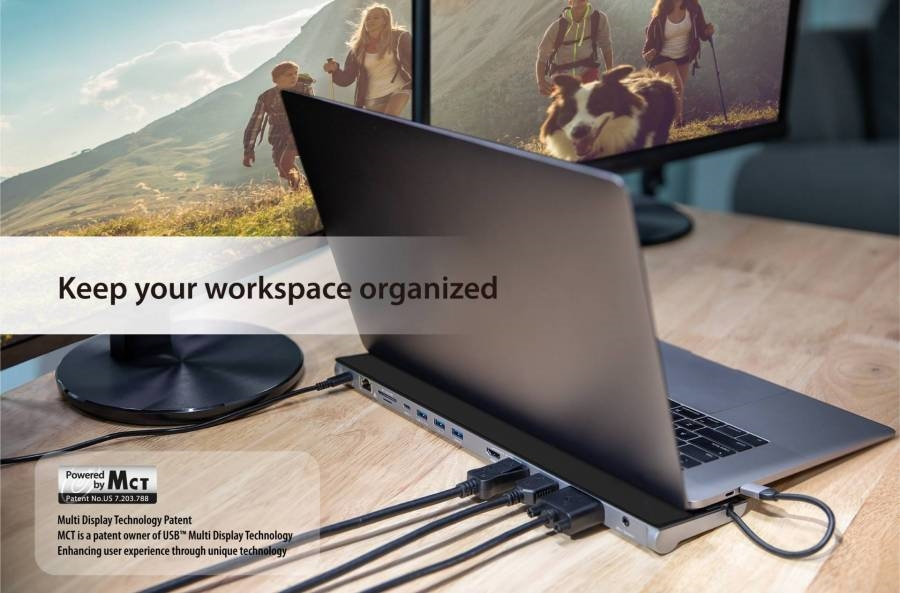 J5Create USB-C™ Triple Display Docking Station with 90W PD Adapter: The Hub of Choice | DeviceDaily.com
