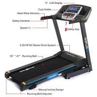 GoPlus Treadmill: Foldable, Smart Exercise Equipment