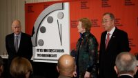 Doomsday Clock scientists are so freaked out, they adjusted the countdown to seconds rather than minutes